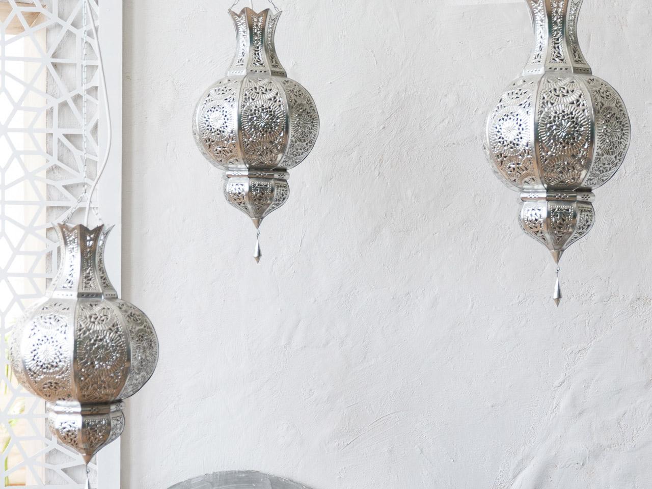 Lampen mit orientalischem Muster
