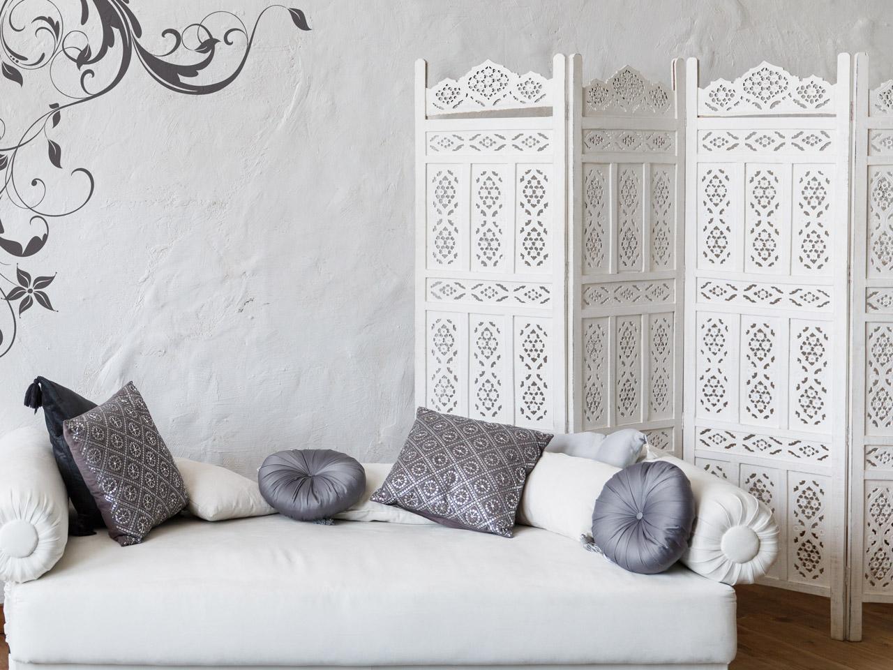 Orientalisches Schlafzimmer - Einrichtungsideen - Dekoration.de