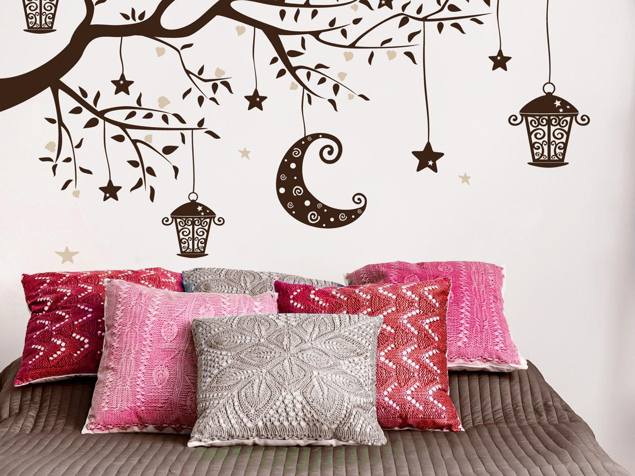 Orientalisches schlafzimmer einrichtungsideen - Wandtattoo orientalisch ...