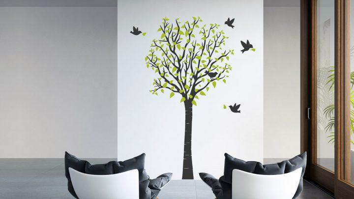 Wandtattoo Baum als stilvolle Dekoidee
