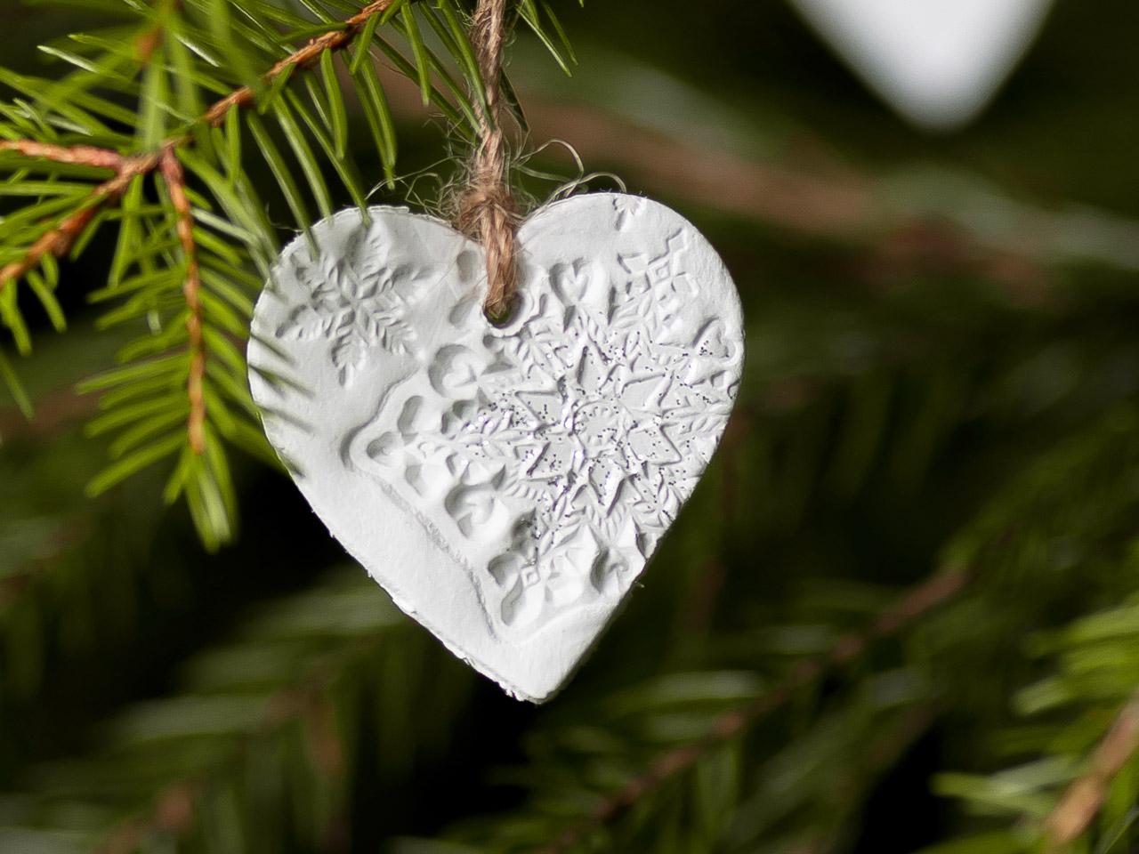 Christbaumschmuck basteln selbstgemachte weihnachtsdeko - Christbaumschmuck selber machen ...