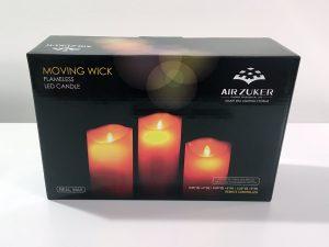 LED Kerzen Verpackung Air Zuker